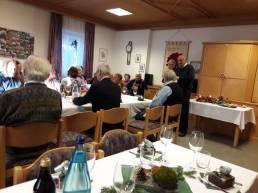 Weihnachtsfeier 2019 Grußworte Dekan Pater Peter Unterhofer